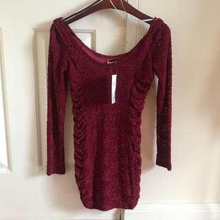 BRAND NEW W TAGS Bodycon Dress