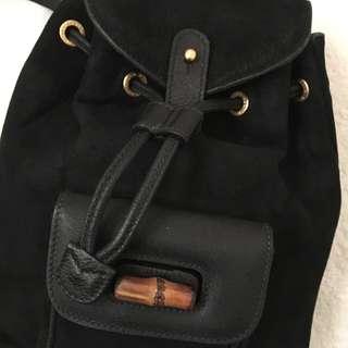 RESERVED TIL TUE Vintage Gucci Backpack