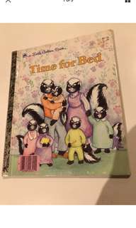 Time For Bed - Little Golden Book