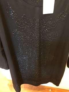BN Full sleeve Long dress size XL