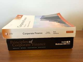 The two most important corporate finance textbooks