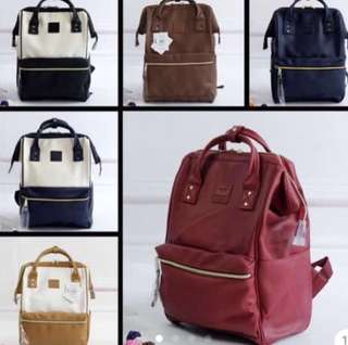 Anello Bagpack Leather