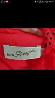 Dress new dragon