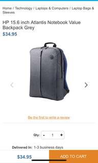 🚚 HP 15.6英吋超值電腦背包