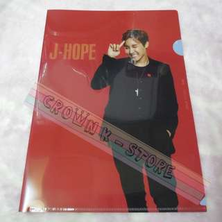 [RARE][READY STOCK]BTS KOREA 2014 LIVE TRILOGY EPISOD 2<THE RED BULLET> OFFICIAL A4 SIZES CLEAR FILE - J-HOPE !NEW! OFFICIAL ORIGINAL FROM KOREA (PRICE NOT INCLUDE POSTAGE)POSSIBLE SMALL SCRATCH ON FILE.PERFECTION BUYER PLS DO NOT PURCHASE