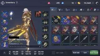 Giran Lineage 2 revolution 1.825m CP sword muse(swordsinger)