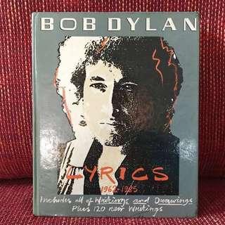 (Hardcover) Bob Dylan Lyrics 1962-1985