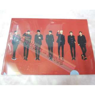 [RARE][READY STOCK]BTS KOREA 2014 LIVE TRILOGY EPISOD 2<THE RED BULLET> OFFICIAL A4 SIZES CLEAR FILE - GROUP !NEW! OFFICIAL ORIGINAL FROM KOREA (PRICE NOT INCLUDE POSTAGE)POSSIBLE SMALL SCRATCH ON FILE.PERFECTION BUYER PLS DO NOT PURCHASE