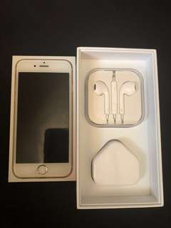 IPHONE 6 64GB FACTORY UNLOCKED (NEGOTIABLE)