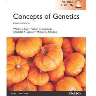 Concepts of Genetics 11th Edition (E-Book)