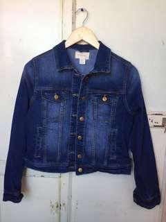 SPRINGFIELD Blue Denim Jacket