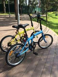 Aleoca foldable Bicycles