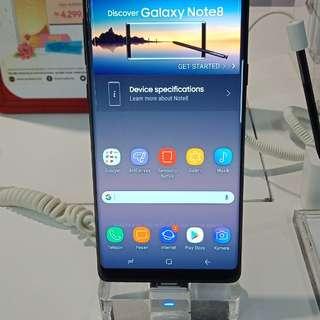 Samsung galaxy Note 8 promo cicilan free 1x cicilan