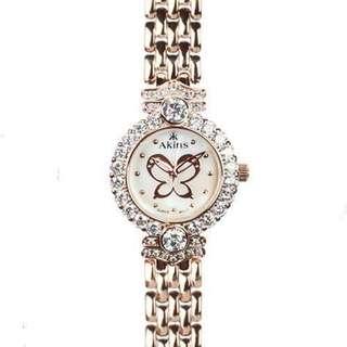 Jewelry Watch (Rose Gold)