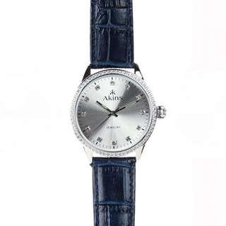 Jewellery Strap Watch(Silver)