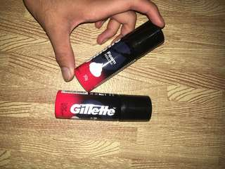 02 pcs Gillette Foam