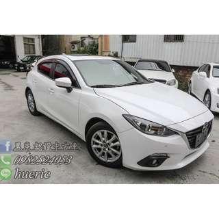 2015  Mazda3  2.0  5D  最優惠的新古車  讓你花少錢  也能買到優質的好車