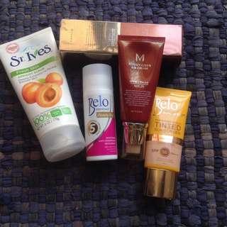Missha Belo Tinted Sunscreen St. Ives Apricot Scrub Belo Beauty Deo