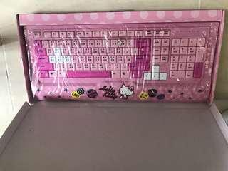 Holle kitty  keyboard. Pc 全新
