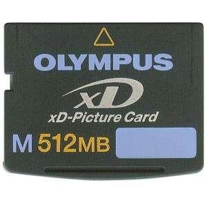Olympus XD M512MB Memory Card