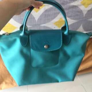 Longchamp Turquoise Small