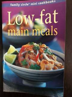 Cook Book - Low fat meal recipes