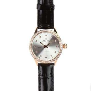Jewelry Strap Watch( Rose Gold)