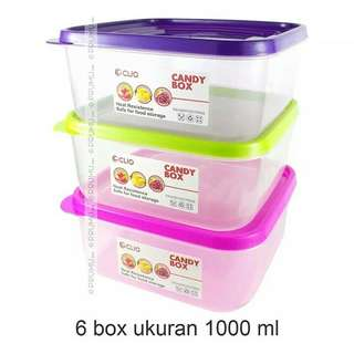 Kotak Makan clio food container