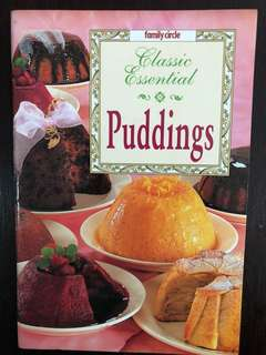 Cook Book - Classic Pudding recipes