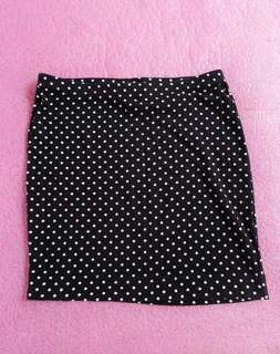 H&m polka skirt