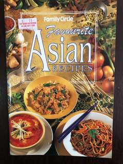 Cook Book - Asian favorite recipes