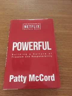 Powerful - Netflix Culture Deck - Patty McCord - Hardcover