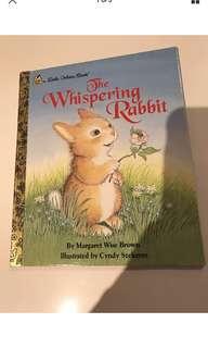 The Whispering Rabbit - Little Golden Book