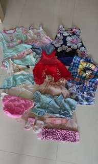 Bundle Baby Girl Clothes