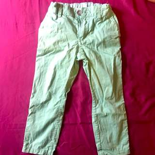 Long Pants - Green