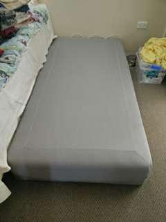Single Bed 188cm x 93cm x 23cm