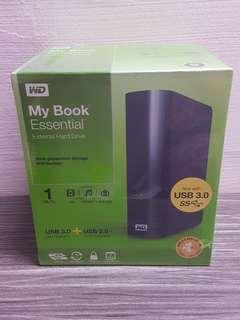 WD 1TB external hard drive