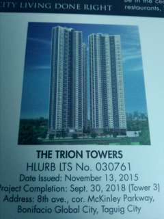 Condominiums at The Trion Towers