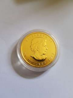 1 oz gold 99.99% Canadian Maple