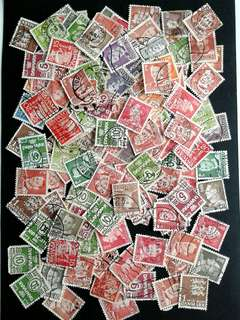 Lots of Danmark stamps