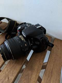 Nikon 5100 kit with 50 mm prime and 55-200mm