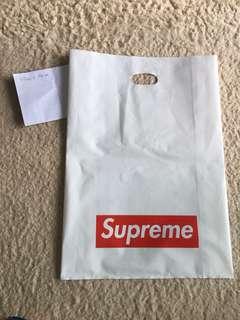 Supreme膠袋 59cm x 42cm 一個