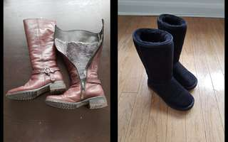 Until April 30 winter boots sale