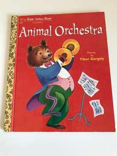 Animal Orchestra - Little Golden Book