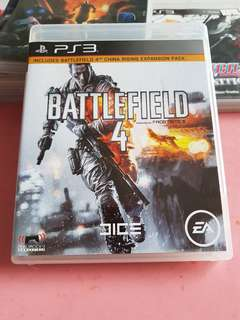 PS3 Game (Battlefield 4)