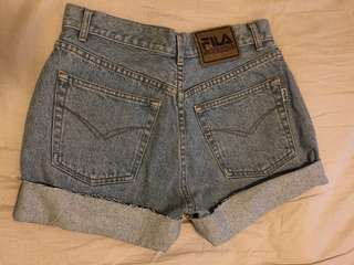 FILA Denim Shorts