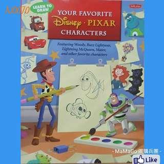 Learn To Draw disney pixar characters💟AJ0070【現貨】