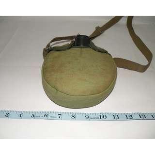 復古 早期軍用造型水壺 酒壺 (二手)