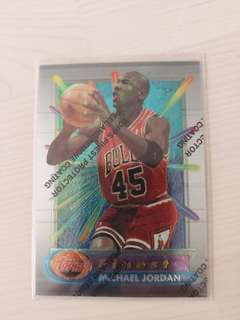 NBA Card Topps 90s Finest Michael Jordan