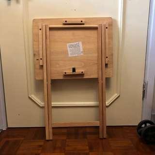 泰國木製小摺枱